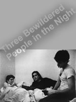 Three Bewildered People in the Night