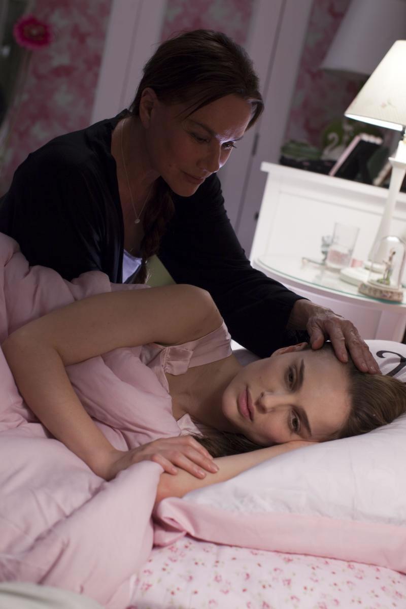 Natalie Portman nero Cigno lesbica scena