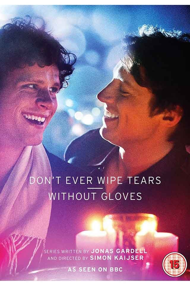 Never wipe tears without gloves