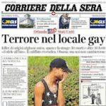 La strage di Orlando, con 49 gay uccisi, ci ricorda quanta omofobia ci sia ancora nella società