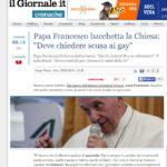 Papa Francesco bacchetta la Chiesa: