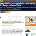 Discriminazione a una coppia gay: ecco perché Strasburgo condanna l'Italia