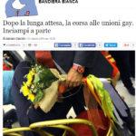 Dopo la lunga attesa, la corsa alle unioni gay. Inciampi a parte