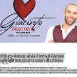 Noto città gay-friendly, al via il festival Giacinto