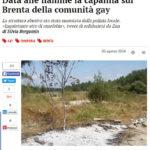 Data alle fiamme la capanna sul Brenta della comunità gay