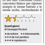 Venezia 73- Le stelle di Mereghetti - L'Italia fragile del Lido