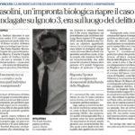 """Pasolini, un'impronta biologica riapre il caso """"Indagate su Ignoto 3, era sul luogo del delitto"""""""