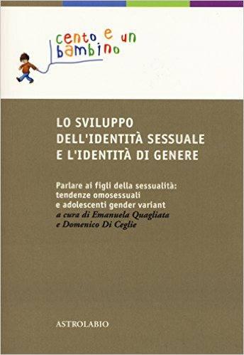 Lo sviluppo dell'identità sessuale e l'identità di genere
