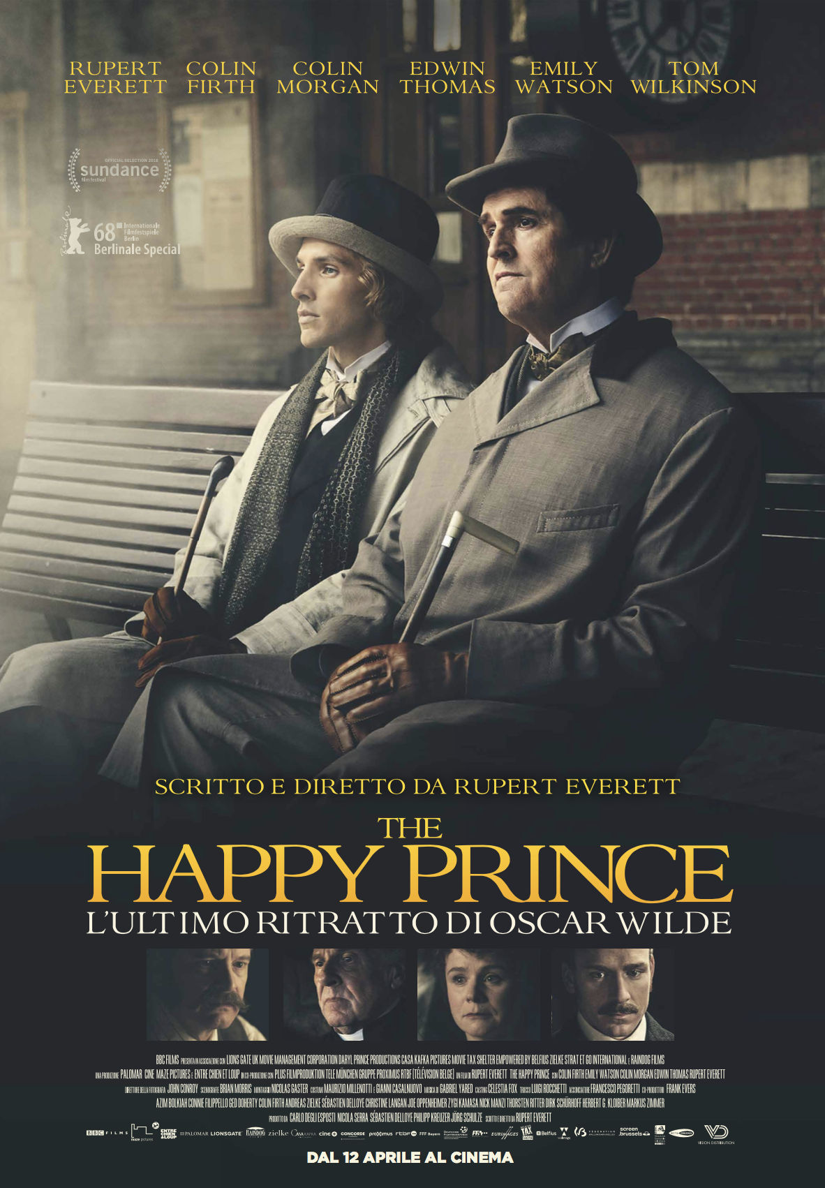 The Happy Prince – L'ultimo ritratto di Oscar Wilde (dir. Rupert Everett)
