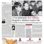 «Non infangate don Milani » Biografi e studiosi contro Siti