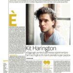 Kit Harington «Oggi agli uomini è permesso sperimentare. Se trucchi gli occhi non ti prendono per pazzo»