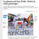 Mantova - La giunta sul Gay Pride «Tutta la città partecipi»