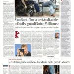 Van Sant, film su artista disabile «Era il sogno di Robin Williams»
