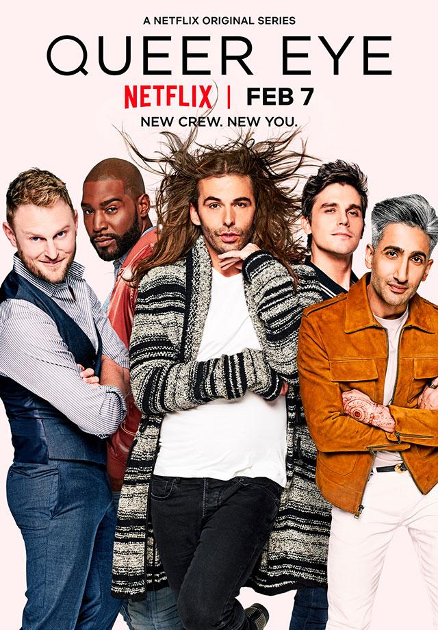 I fantastici 5 - Queer Eye  (Netflix dal 7 febbraio 2018)