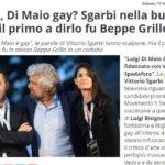 M5s, Di Maio gay? Sgarbi nella bufera, ma il primo a dirlo fu Beppe Grillo