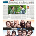 «Coming out» in un film per famiglie