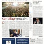 Gay Village senza divi