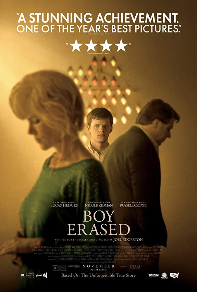 Boy Erased – Vite cancellate (dir. Joel Edgerton):