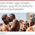 Toscana Pride, oggi rivedrò Davidson: gay che in Italia ha trovato la sua famiglia