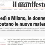 Giovedì a Milano, le donne raccontano le nuove maternità