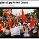 In migliaia al Gay Pride di Catania
