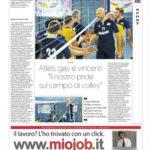 """Atleti, gay e vincenti """"Il nostro pride sul campo di volley"""""""