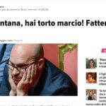 Caro Fontana, hai torto marcio! Fattene una ragione