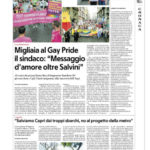 """Migliaia al Gay Pride il sindaco: """" Messaggio d'amore oltre Salvini"""""""