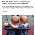Milano, no di Sala a due padri gay