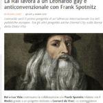 La Rai lavora a un Leonardo gay e anticonvenzionale con Frank Spotnitz