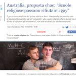 Australia, proposta choc: