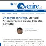 Un segreto condiviso. Storia di Alessandro, non più gay (rispetto, per tutti)