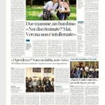 Due mamme, un bambino «Noi discriminate? Mai,Verona non è intollerante»