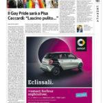 """Il Gay Pride sarà a Pisa - Ceccardi: """" Lascino pulito..."""""""